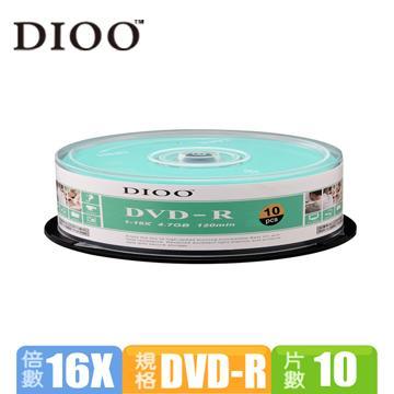DIOO 海洋版 16X DVD-R 10片桶裝(D-MDD023)