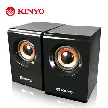 KINYO USB木質立體擴大喇叭(US-176)
