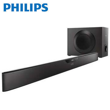 【展示機】PHILIPS NFC/藍牙微型劇院Sound Bar(HTL6140B)