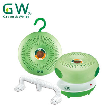 GW水玻璃甜甜圈分離式除濕機4入組
