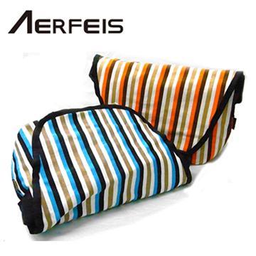 AERFEIS 阿爾飛斯 S19-S 條紋系列相機包 條紋咖啡(條紋咖啡)