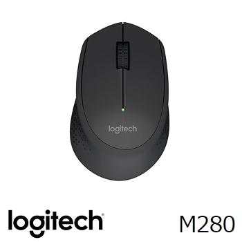 羅技 Logitech M280 無線滑鼠 - 黑(910-004298)