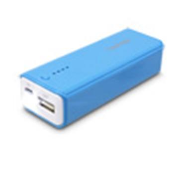 【6000mAh】Esense 魅力4色行動電源-藍(37-EMK607BL)
