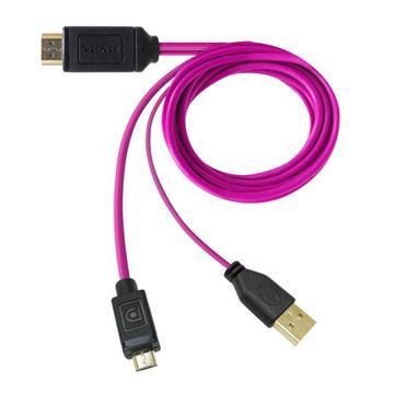 Esense Slimport to HDMI多媒體轉接器3M(37-SLT320)