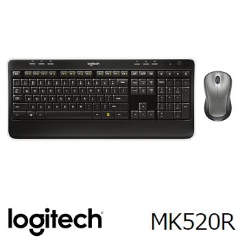 羅技 Logitech MK520R 無線滑鼠鍵盤組合