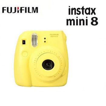【展示機】富士Mini8馬上看相機-黃