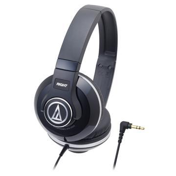 鐵三角 S500耳罩式耳機-黑(ATH-S500 BK)