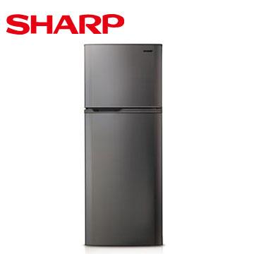 【福利品 】SHARP 310公升1級雙門電冰箱(銀色)(SJ-310T-S)