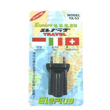 博覽家台灣出國專用插座(越、泰、印.歐洲)(TA-53)
