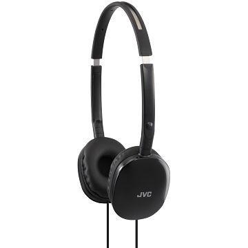 JVC HA-S160頭戴式耳機-黑(HA-S160-B)