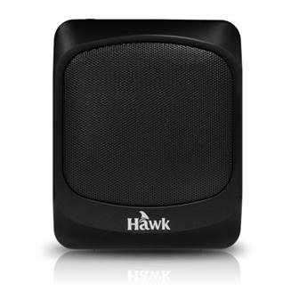 Hawk 超廣域隨身擴音器(08-HAF128TBK(黑))