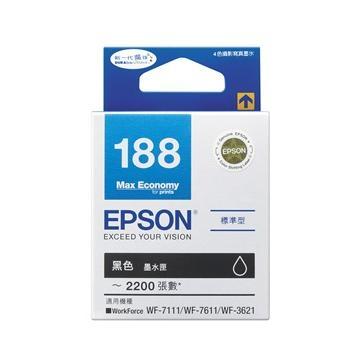 EPSON T188黑色魔珠墨水(BK)(C13T188150)