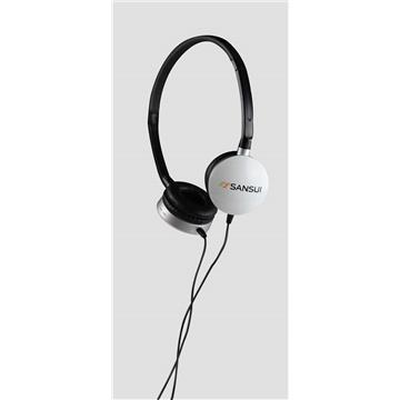 山水 SHD-005耳罩式立體耳機-白(SHD-005W)