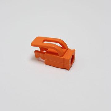 群加RJ-45水晶頭護套【50入】橘(TOOL-GSRB503)