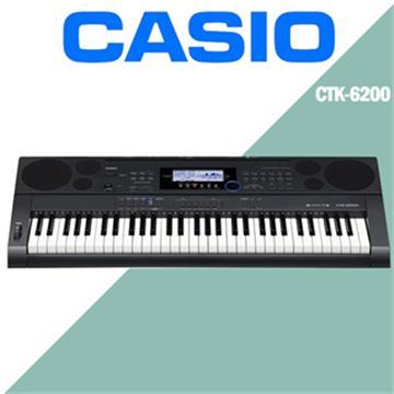 CASIO 61鍵電子琴(CTK-6200)