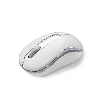 雷柏M10無線光學滑鼠-白(M10-白)