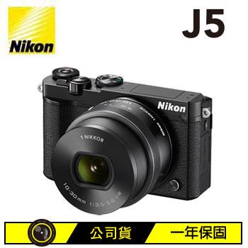 Nikon 1 J5微單眼相機KIT-黑