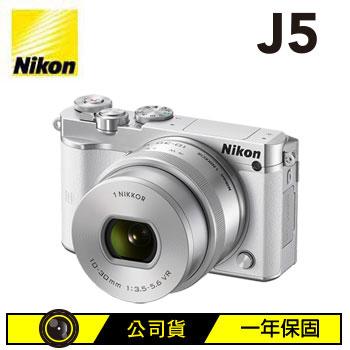 Nikon 1 J5微單眼相機KIT-白(j5kitWH)
