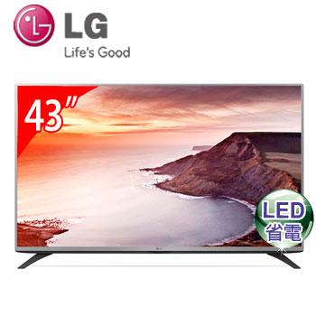 【福利品】 LG 43型 LED液晶電視(43LF5400)