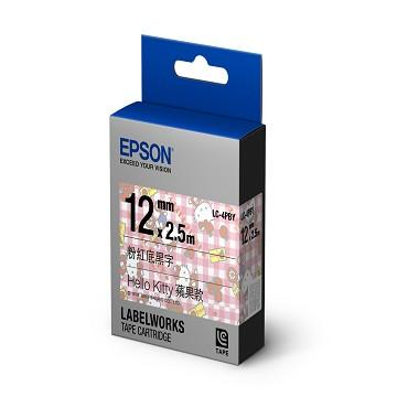 【蘋果款】EPSON LC-4PBY Hello Kitty 標籤帶(C53S625060)