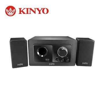 KINYO 2.1聲道重低音木質音箱