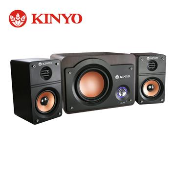 KINYO 2.1聲道重低音木質音箱(KY-5950)