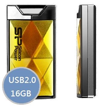 【16G】廣穎Touch 850 (金)隨身碟(SP016GBUF2850V1A)