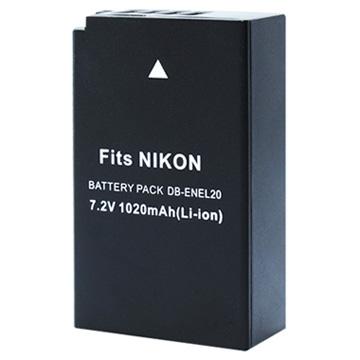Kamera for Nikon EN-EL20 高效能鋰電池(EN-EL20 鋰電池)