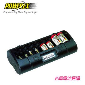 MAHA-POWEREX 八通道大小通吃智慧型充電器(MH-C808M)