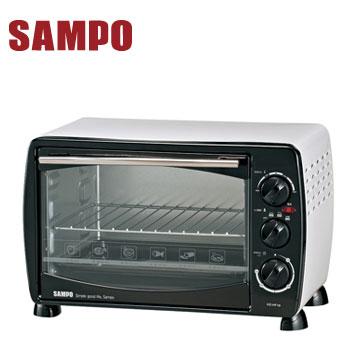 【福利品】聲寶19L電烤箱