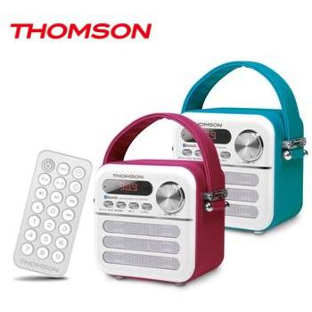 【福利品】THOMSON 藍牙/TF 隨身音響(TM-TCDT08U)