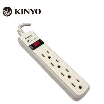 KINYO 1開4插 安全延長線
