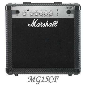 Marshall 15瓦電吉他音箱(MG15CF)