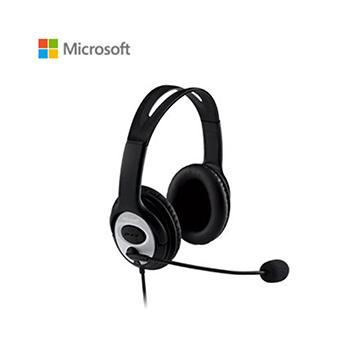 Microsoft LX-3000耳機麥克風-黑(JUG-00017)