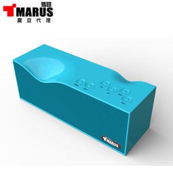 【福利品】MARUS NFC/藍牙揚聲器(MSK-101-BU(藍))