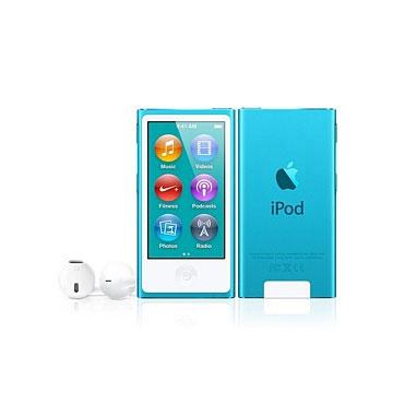 【16G】iPod nano 藍色 (7TH)(MKN02TA/A)
