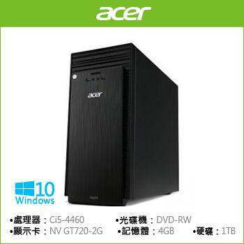 ACER TC-705 Ci5 GT720 四核獨顯桌上型電腦(TC-705 i5-4460 (W10))