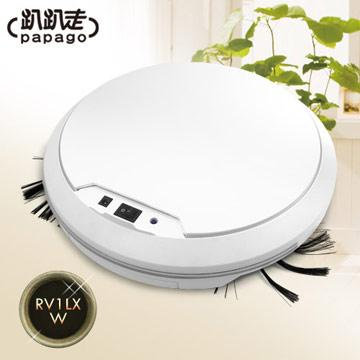 【趴趴走】智慧型吸塵器機器人(白色)(RV1LX-W)