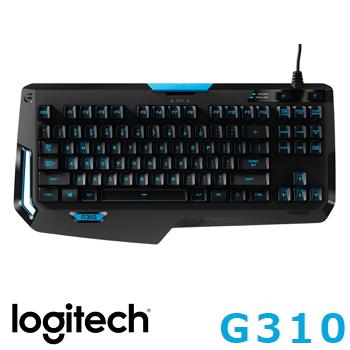 羅技 Logitech G310 Atlas Dawn精簡型機械遊戲鍵盤(920-006969)