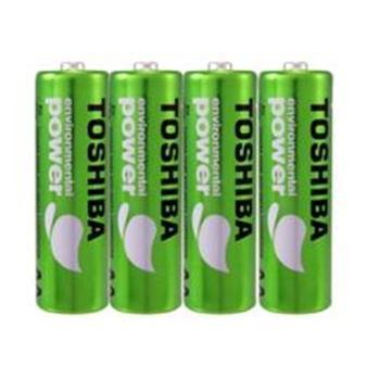 東芝無鉛綠4號電池4入(R03UE)