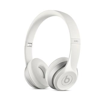 Beats Solo 2 耳罩式耳機-光面白色(MH8X2PA/A)