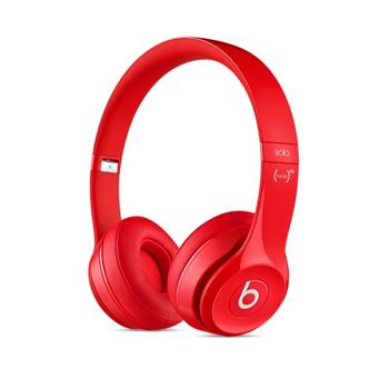 Beats Solo 2 耳罩式耳機-光面紅色(MH8Y2PA/A)