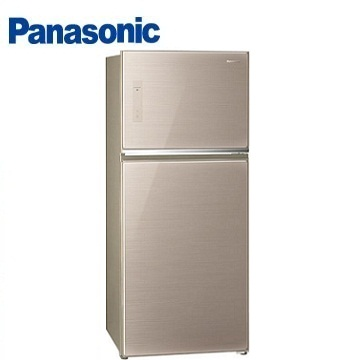 Panasonic 485公升玻璃ECONAVI雙門變頻冰箱(NR-B487TG-N(翡翠金))