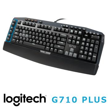 羅技 Logitech G710 PLUS 機械遊戲鍵盤 - 青軸(920-007763)