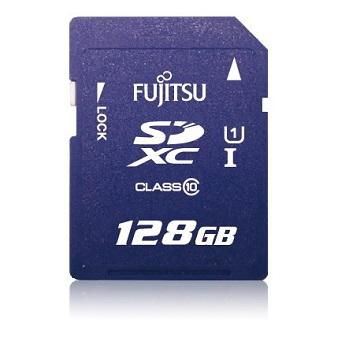 Fujitsu SDXC UHS-I 128G記憶卡(SDXC-128GB_UHS-I)