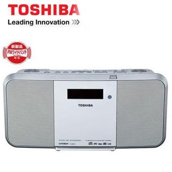 【展示機】TOSHIBA USB/SD手提CD錄放音響(TY-CRX71TW)