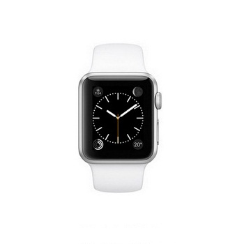 【38mm】Apple Watch Sport 白色運動 / 銀色鋁金屬 MJ2T2TA/A()