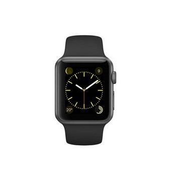 【38mm】Apple Watch Sport 黑色運動 / 太空灰鋁金屬 MJ2X2TA/A()