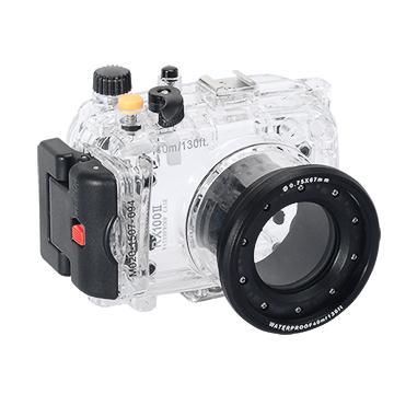 Kamera For Sony DSC-RX100M2 潛水殼-黑(FOR DSC-RX100M2)