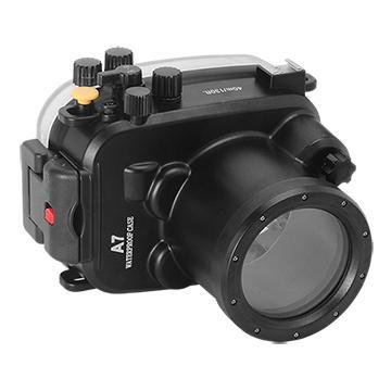 Kamera For Sony α7 / α7R (28-70mm) 潛水殼-黑(FOR α7/α7R 28-70mm)